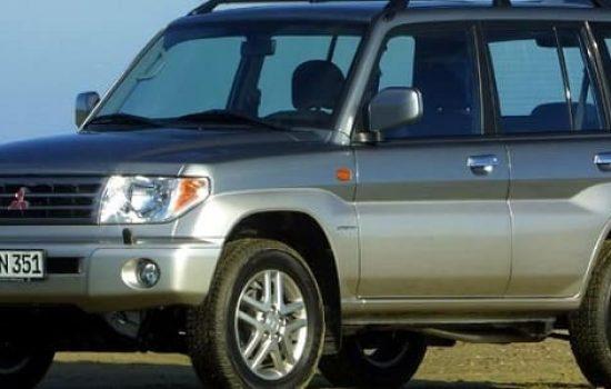 Car rental Mitsubishi Pajero IO/Pinin 2.0 (5 doors)
